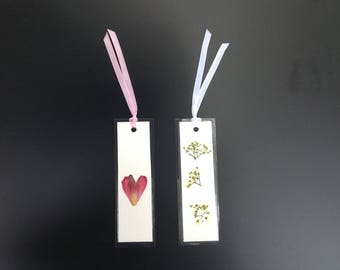 Dried Floral Art, Bookmarks (set of 2)
