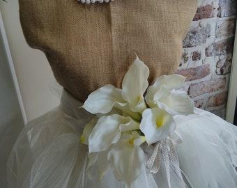 Calla hand tied bridal bouquet