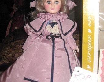 Effanbee Victorian Miniature Collection Doll..Salisbury Blue..1986