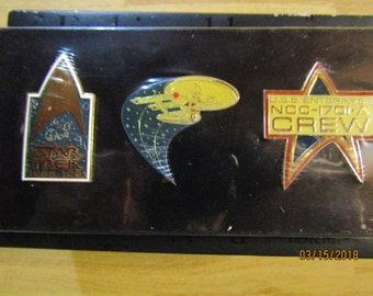 Nip Star Trek Insignia Pins