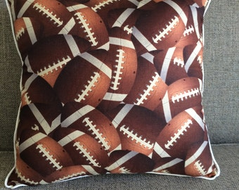 Football Pillow customizable to your team/favorite colors