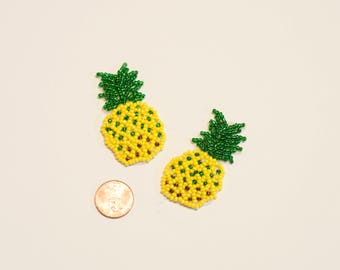 Beaded Pineapple Patches
