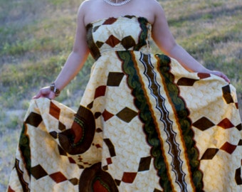 Ankara Dress African Clothing African Dress African Print Dress African Fashion Women's Clothing African Fabric Maternity Dress Summer Dress