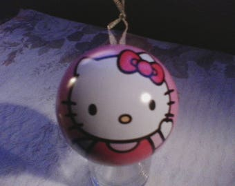 Collectable Hello Kitty ornament  tin and puzzle