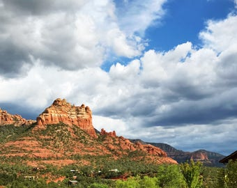 Sedona Sky - Fine Art Landscape Photograph, American West, Travel Photography