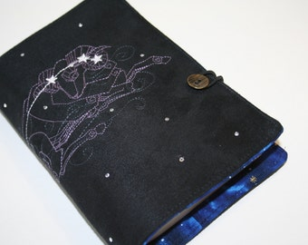 Aries Embroidered Book Cover