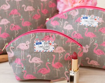 Flamingo Party Gift Flamingos Makeup Toiletry Wash Bag