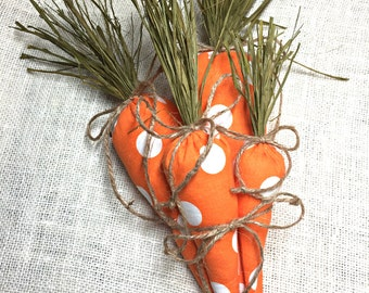 Easter Carrots, Easter Decoration, Easter Basket, Easter Decor, Easter Bunny, Fabric Carrot, Easter Basket Filler, Easter Gift, Easter Party