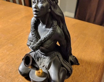 A HIP Original, Made in Hawaii, resin cast pen holder, 1977 (P-33)