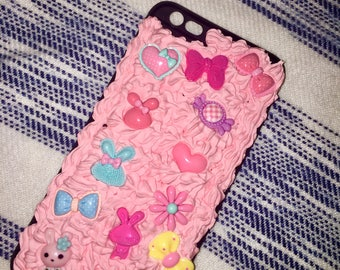 Kawaii Decoden iPhone 6 Plus case
