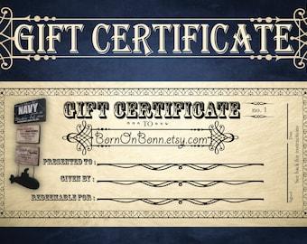 Gift Certificate for BornOnBonn