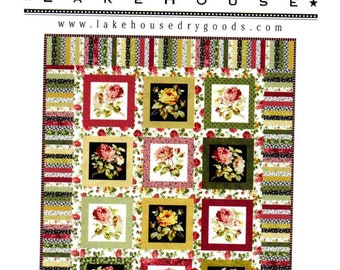 New Circle of Friends Quilt sewing pattern by Lakehouse Drygoods - Easy