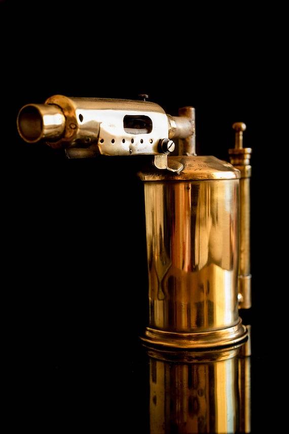 Old Rare Vintage Brass Blowtorch. Primus Sweden Burner. Steampunk Style Home  Decor. Photo Props. Vintage Home Decor. 1910. From Viktoria4Art On Etsy  Studio