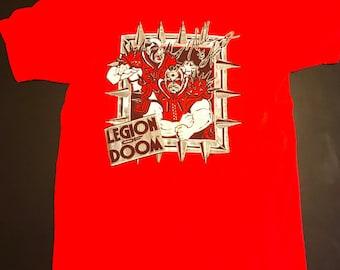 Vintage Original 1990's WWF Legion of Doom Tag Team T shirt
