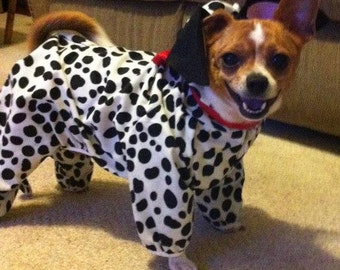 Custom-made dogs or cats costumes made to order only Dalmatian