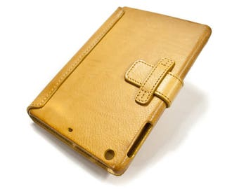 "iPad PRO 10.5"" code A1701 A1709 leather case made by genuine italian leather as protection choose color"