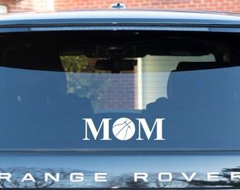 Basketball Mom Decal | Basketball Mom | Basketball | Basketball Mom Window Sticker | Basketball Decal | Basketball Sticker | Window Decal