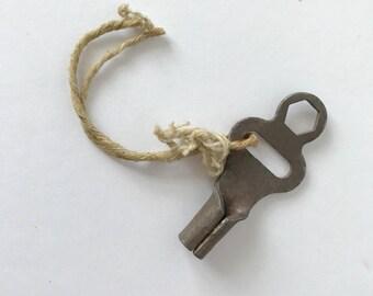 Vintage metal skate key 1950s