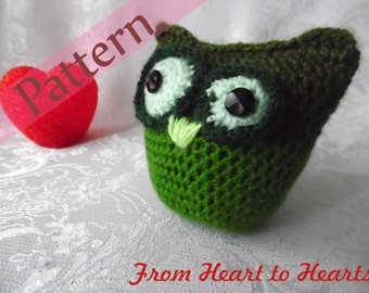 Owl_Amigurumi (crochet pattern)