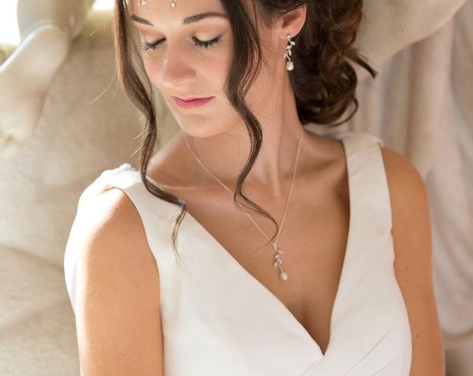 Hair garland, vine, bridal long hair wrap, Swarovski crystal, gold, silver, crown, bun, wedding accessories, accessory, bride hair accessory