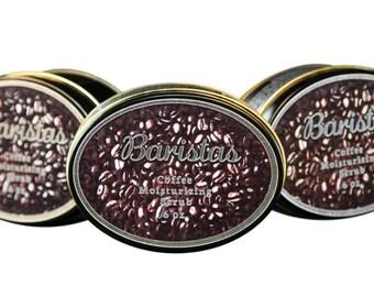 Coffee moisturizing scrub, Coffee Moisturizer, Moisturizer, coffee scrub, baristas