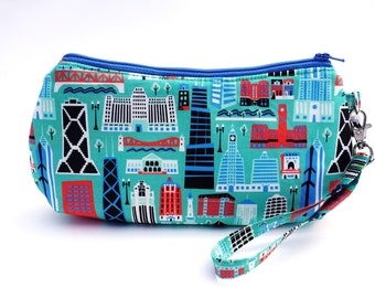 Chicago Purse | Windy City Wristlet | Chicago Pride Bag | Illinois Handbag | Chicago Souvenir | Chicago Gift | Illinois Gift | Teacher Gift