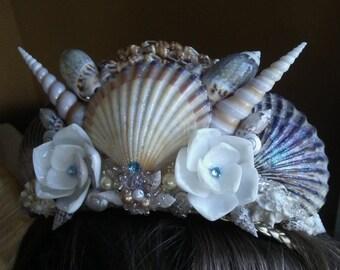 Custom Mermaid Tiara! Choose Your Style & Color Scheme