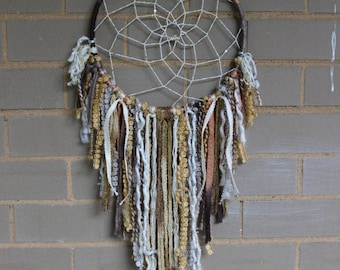 Dreamcatcher   Gold, White, Tan, Yellow   Urban Outfitters, Free People