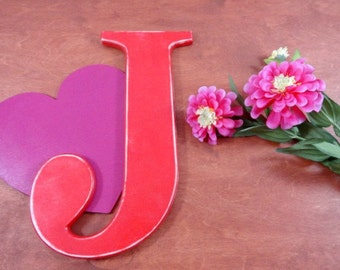 Personalized Wooden Letters For Nursery - Wall Letters Decor for Hanging - Big Wooden Letters - Shabby Chic Letters - Large Letters
