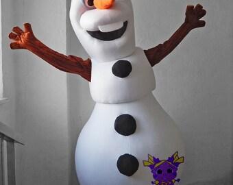"""Olaf """"Frozen"""". Mascot"""