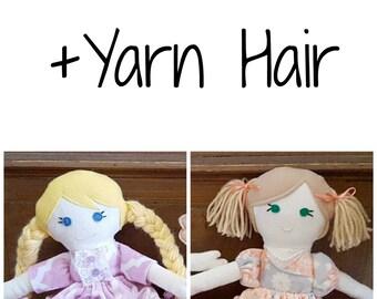 Add Yarn Hair