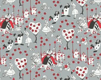 Queen of Hearts Cotton Print