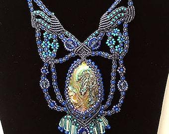 Blue Abalone Necklace