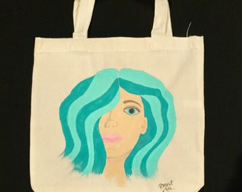 Whimsical Portrait Tote