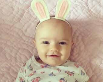 White Rabbit Headband for Baby