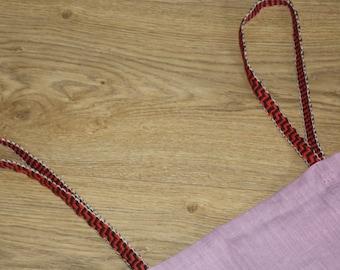 Viking overdress/hangerock/pini purple, linen