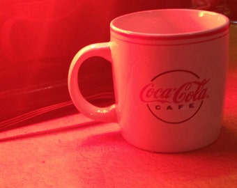 Cafe Coca-Cola mugs 2pc set