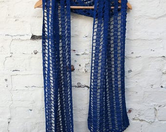 Fine Cotton & Bamboo Scarf Shawl - Ready to Ship