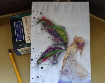 Fabric Faerie  A5 Notebook