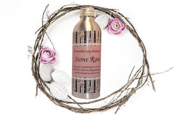 """Sulfate-free aromatherapy regenerating shampoo """"Stone Rose"""""""