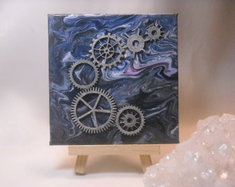 Steampunk Table Art