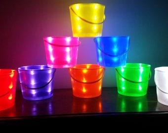 Blank Light-Up Halloween Buckets
