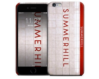 Toronto Subway Phone Case - Summerhill Station - Available for iPhone X, iPhone 8, iPhone 7, iPhone 6 Plus, iPhone 6, iPhone 5S/5, iPhone 5C