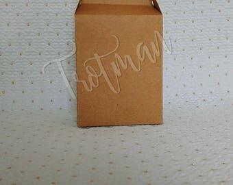 Kraft favor box