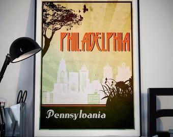 Philadelphia decor | Etsy