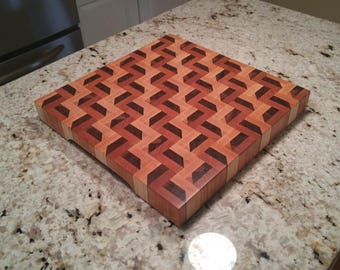 3D Stair Cutting Board