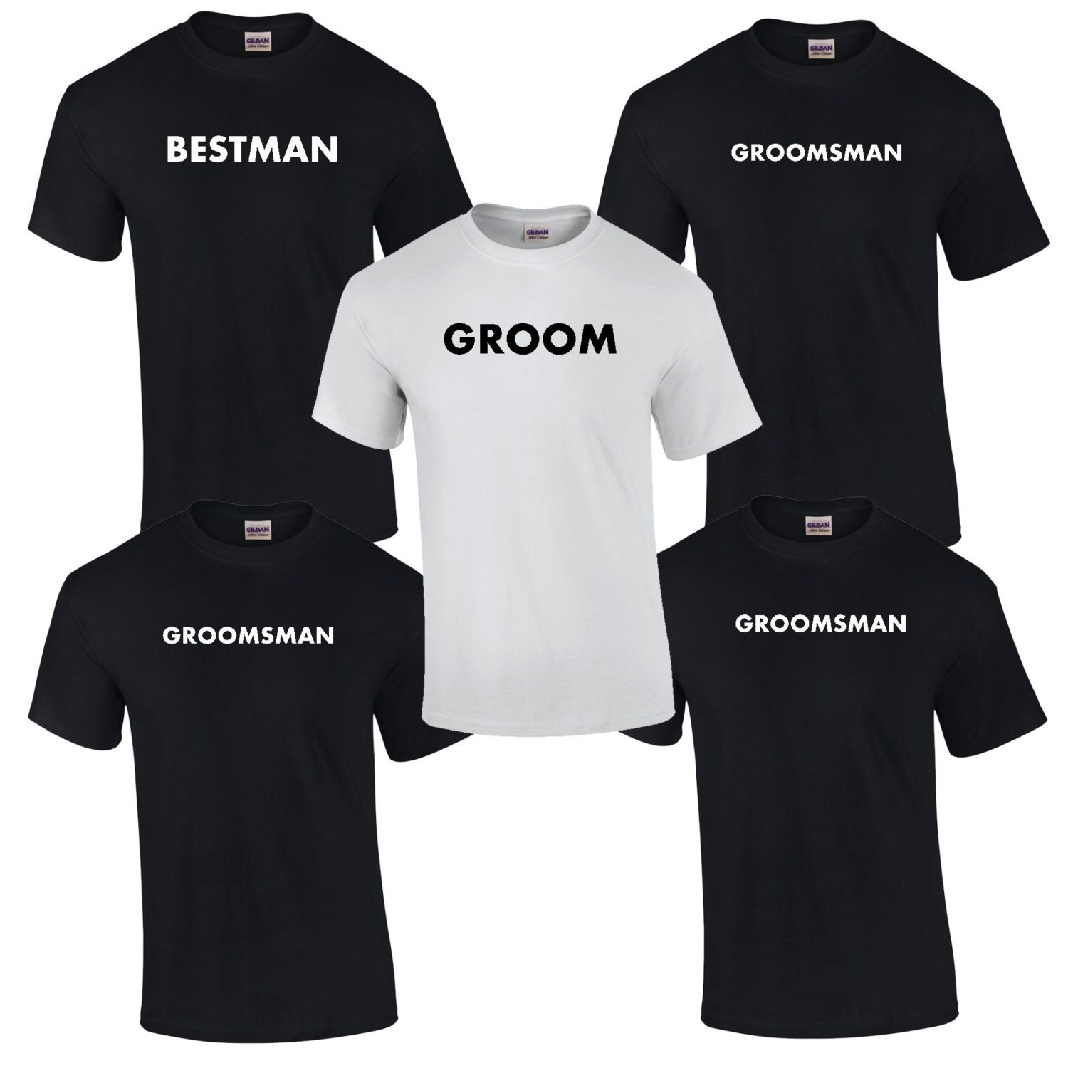 3 Bachelor Party T-Shirts. Bachelor Party Tees. Groomsmen