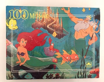 Vintage Disney The Little Mermaid Puzzle