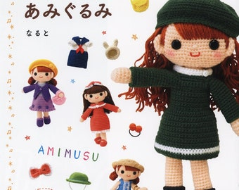 Amigurumi Doll Book : Make your own miki doll youtube