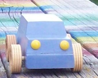 Wooden Toy Car Suburban